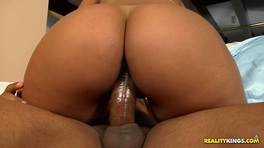 Asstastic Brazilian adolescent Juju Rangel grinds on dick subsequent to prodding