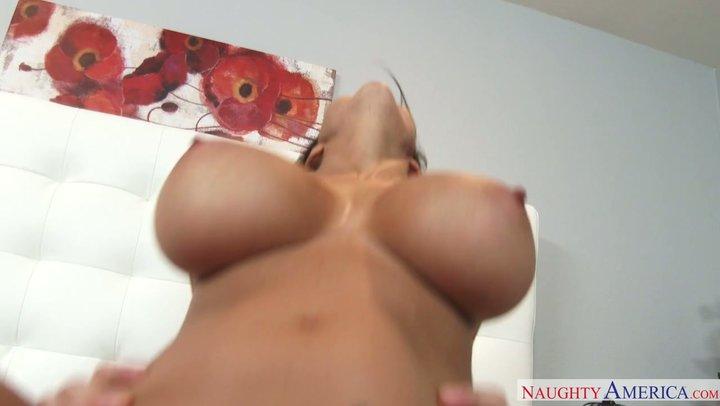 Brunette mama with monster boobs Ava Addams screws like a sex goddess