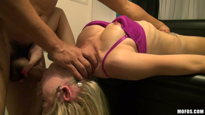 Simply a remarkable mouth fuck and savage sex with tasteful blondie Brandi Blunt