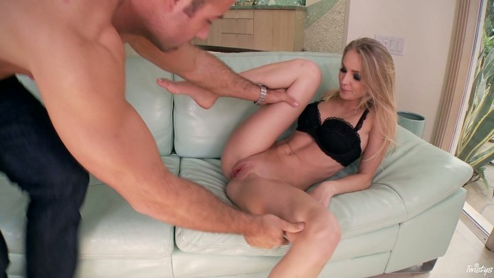 Thin licentious Staci Carr gets boned hard