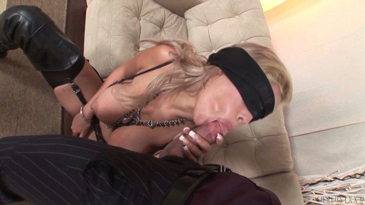 Breathtaking thot with epic DDD boobs Bridgette B screws blindfolded