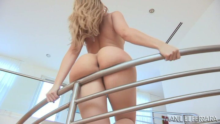 Young lady with the greatest rear end in the bizz Alexis Texas drains hard dick with her air pocket butt