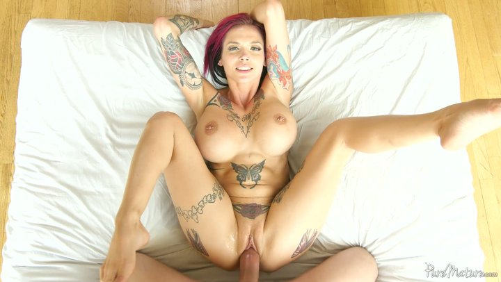 Punky MILF with beast bends Anna Bell Peaks appreciates creampie in the wake of boring