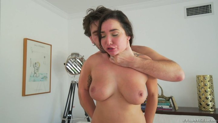 Huge whole chicken gives no rest to wet muff of very stacked Karlee Gray