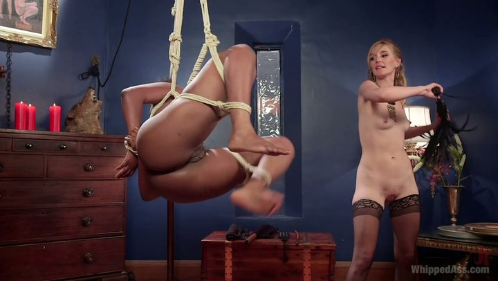 Appalling white paramour goes crazy over thick dark slave Lisa Tiffian