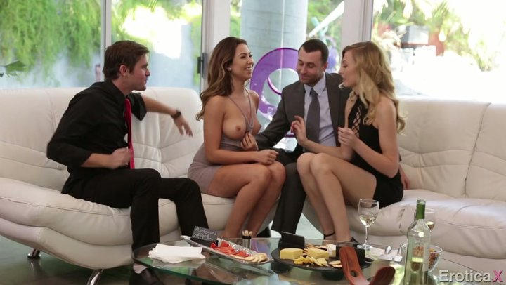 Well disposed supper winds up with no-nonsense pleasure seeker style foursome