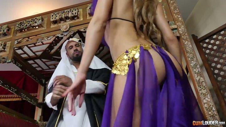 Appealing mistress Chloe Amour satisfies her sheik